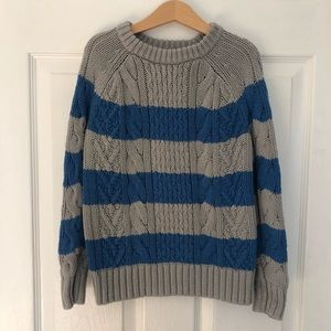 Chunky Cable Knit Sweater From GAP 6-7